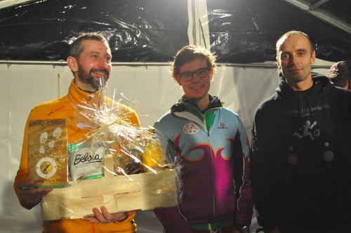 Podium de l'Espad'O Night 2019
